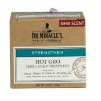 Dr. Miracle's Hot Gro Hair & Scalp Treatment Regular 4 oz