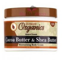 Ultimate Organic Cocoa & Shea Butter Body Cream 8 oz