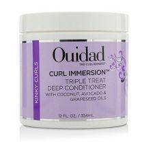 OUIDAD Curl Immersion Triple Treat Deep Conditioner, 12 Fl Oz