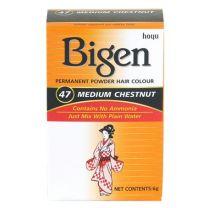 Bigen Hair Color Medium Chestnut no. 47
