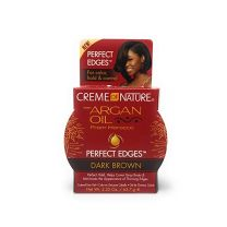 Creme of Nature Argan Oil Perfect Edges Dark Brown 2.25oz