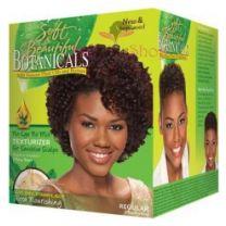 Soft & Beautiful Botanicals Regular No-Lye No Mix Texturizer for Sensitive Scalps
