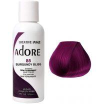 Adore Semi Permanent Hair Color 85- Burgundy Bliss 118ml