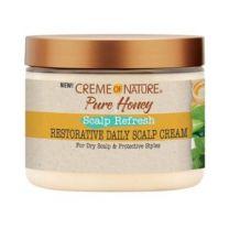 Creme of Nature Pure Honey Scalp Refresh Restorative Daily Scalp Cream 4.7oz