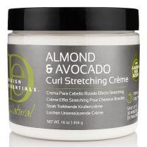 Design Essentials Almond & Avocado Curl Stretching Cream 16oz