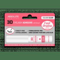 Latex Eyelash Adhesive with Brush - Clear