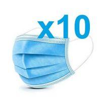 Disposable Protective Mask (non medical) 10x