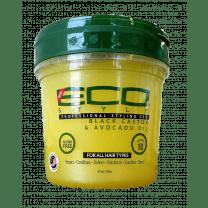 EcoStyler Styling Gel Black Castor & Avocado Oil 16oz