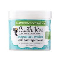 Camille Rose Coconut Water Curl Coating Cowash 12 oz