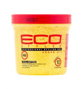 Eco Style Professional Styling Gel Argan Oil Max Hold 16 oz