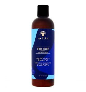 As I Am Dry And Itchy Scalp Care Olive And Tea Tree Oil Shampoo 355ml