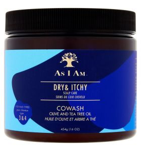As I Am Dry And Itchy Scalp Care Olive And Tea Tree Oil Co-Wash 454 gr