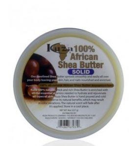 Kuza Shea Butter Soild 8 oz