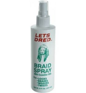 Lets Dred Braid Spray 8 oz