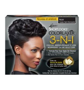 Pink ShortLooks Color Relaxer Kit Black