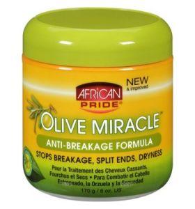 AFRICAN PRIDE OLIVE MIRACLE ANTI-BREAKAGE FORMULA 6oz