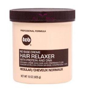 TCB - No Base Creme Hair Relaxer (Regular) 15 oz