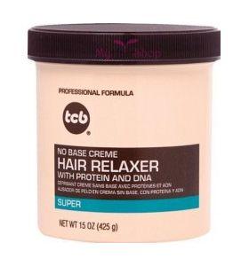 TCB - No Base Creme Hair Relaxer (Super) 15oz