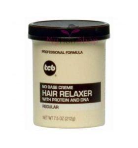 TCB - No Base Creme Hair Relaxer (Regular) 7.5oz
