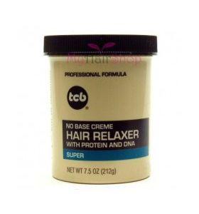 TCB - No Base Creme Hair Relaxer (Super) 7.5oz