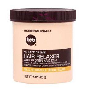 TCB - No Base Creme Hair Relaxer (Mild) 15oz