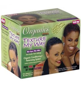Africa's Best Organics Texture My Way No-Lye No-Mix Texturizing System Kit