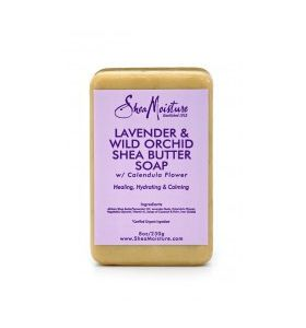 Shea Moisture Lavender & Wild Orchid Shea Butter Soap