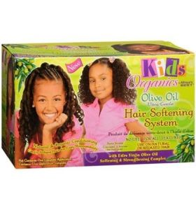 Africa's Best Kids Organics Olive Oil Ultra-Gentle Hair Softening System