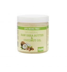 Yari 100% Raw Shea Butter & Coconut Oil 250ml