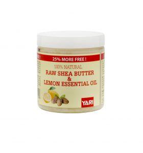 Yari 100% Raw Shea Butter & Lemon Oil 250ml