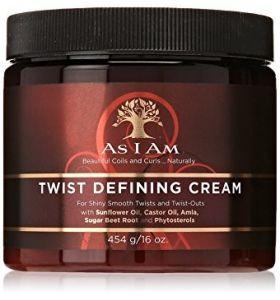 As I Am Naturally Twist Defining Cream 16oz