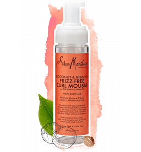 Shea Moisture Coconut & Hibiscus Frizz-Free Curl Mousse 220ml