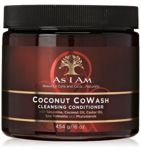 As I Am Naturally Coconut CoWash 16oz