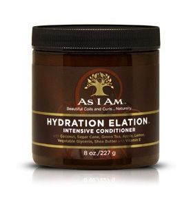 As I Am Naturally Hydration Elation Intensive Conditioner  8oz