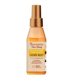 Creme of Nature Pure Honey Silicone-Free Lightweight Shine Mist 118 ml