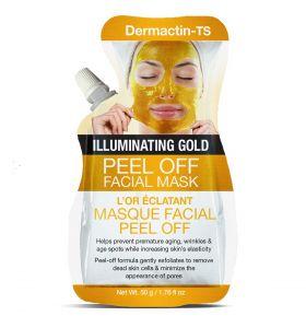 Dermactin-TS Peel Off Facial Mask Illuminating Gold 50 gr