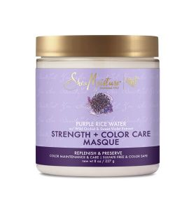 Shea Moisture Purple Rice Water Strength & Color Care Masque 227 gr