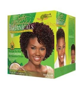 Soft & Beautiful Botanicals Regular No-Lye No Mix Texturizer for Sensitive Scalps