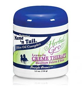 Mane 'n Tail Herbal Gro Leave in Creme Therapy 156 gr