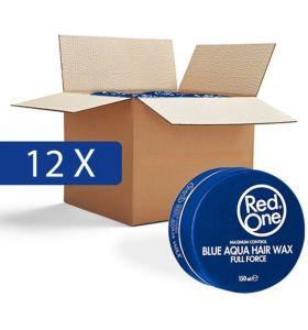 Red One Wax Aqua Blauw - Voordeelpakket - 12 Stuks