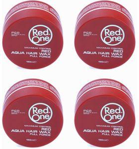 RedOne Red Aqua Haarwax - 150ml - 4 stuks