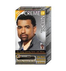 Creme of Nature Men hair color Rich Black 4.0