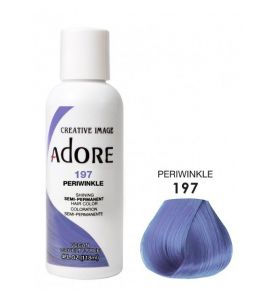 Adore Semi Permanent Hair Color 197 - Periwinkle 118 ml