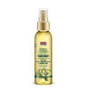 African Pride Olive Heat Protection Shine Mist 4oz