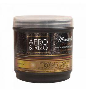 Afro & Rizo Mascarilla - Hair Mask 8 oz