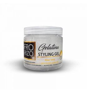 Afro & Rizo Styling Gel with Aloe Vera 16 oz