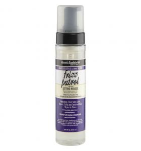 Aunt Jackie's Grapeseed Frizz Patrol Setting Mousse 244 ml