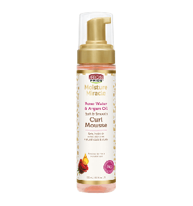 African Pride Moisture Miracle Rose Water & Argan Oil Curl Mousse 251 ml