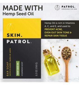 Bump Patrol Skin Patrol Bar Soap Hemp Seed Oil 5.2 oz
