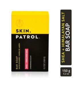 Bump Patrol Skin Patrol Bar Soap Shea Himalayan Salt 5.2 oz